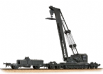 38-801  Bachmann  Ransomes & Rapier 45T Steam Breakdown Crane   GWR Grey
